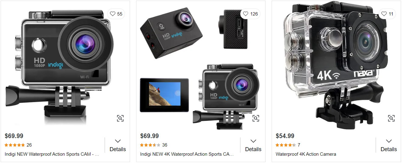 Get a GoPro or an action camera for water sports