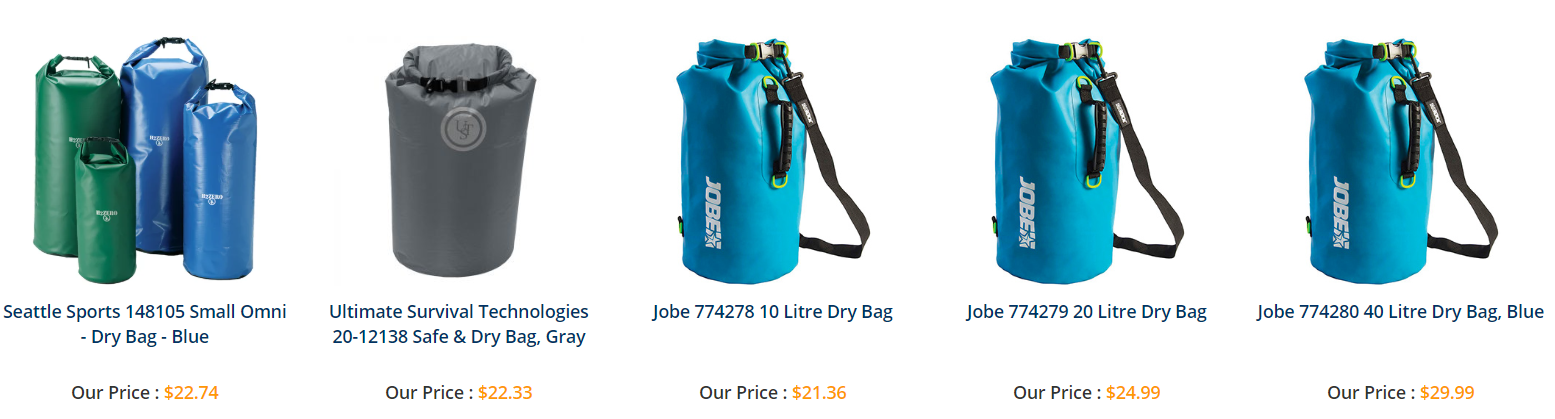 Dry bags for all usages